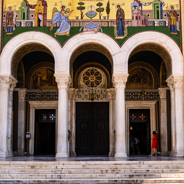 Arches of Metropolitan Orthodox Cathedral