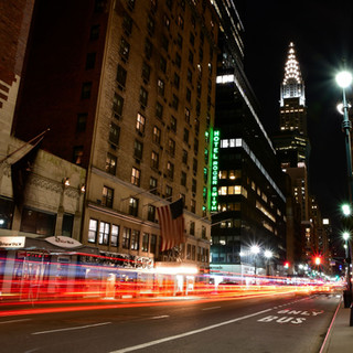Lexington Ave at Night