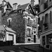 Light and Shadows in Montmartre