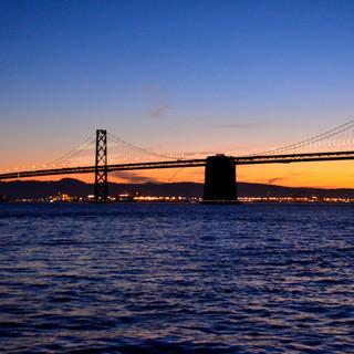 Bay Bridge before Sunrise