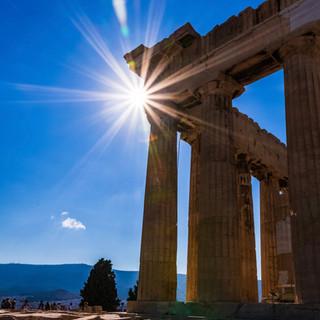 Starburst at the Acropolis