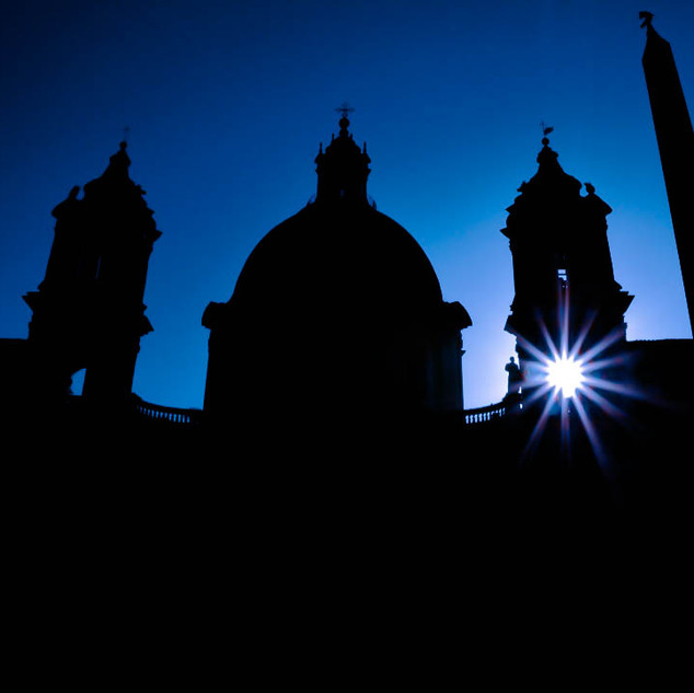 Sant' Agnese in the Piazza Navona in Rome