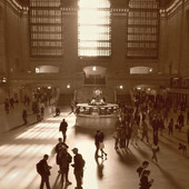 Grand Central Embrace