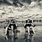 Older Women on the Beach