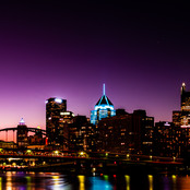 Pittsburgh's Violet Dawn