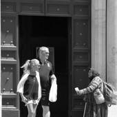Beggar Woman in the Eternal City