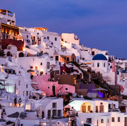 Oia in the Blue Hour