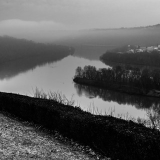 The Bend in the Ohio River near Weirton