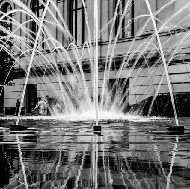 Fountain at the Metropolitan Museum
