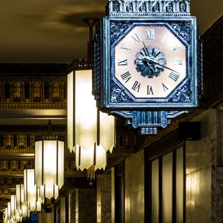 Lobby Clocks in The Koppers Building