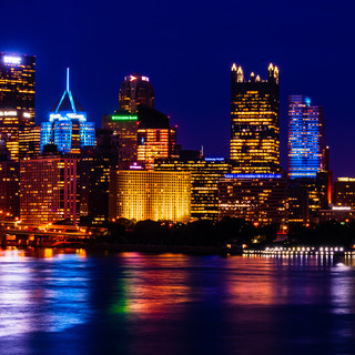 PIttsburgh From the West End Bridge