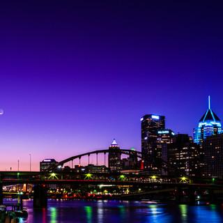 Purple Dawn in Pittsburgh
