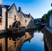 The Mill and Canal in Bayeux