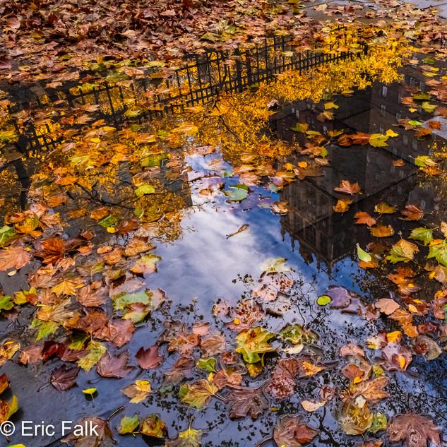 Tudor City Reflections-Upside Down