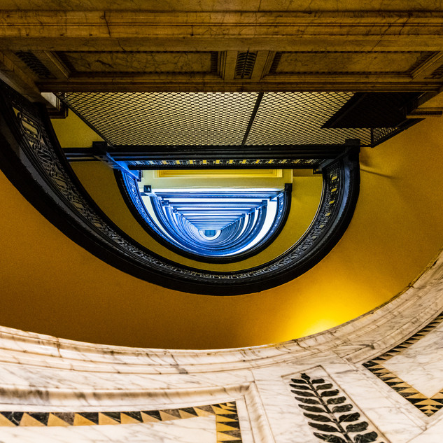 Bank Tower Staircase 1
