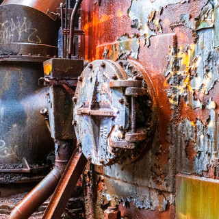 Colorful Rust at Carrie Furnace