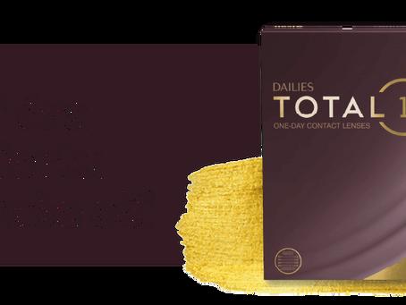 Jednodenní kontaktní čočky TOTAL 1 od firmy ALCON