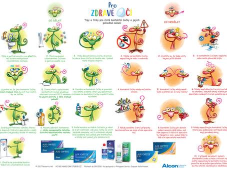 Tipy a triky pro čisté kontaktní čočky a jejich pohodlné nošení