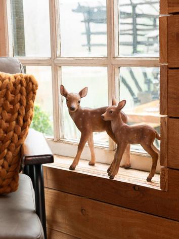 Fluffy Fall Figurines