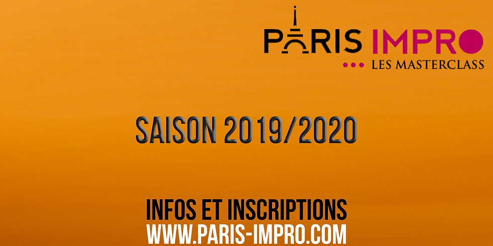 Marion Billy - MasterClass By Paris Impro