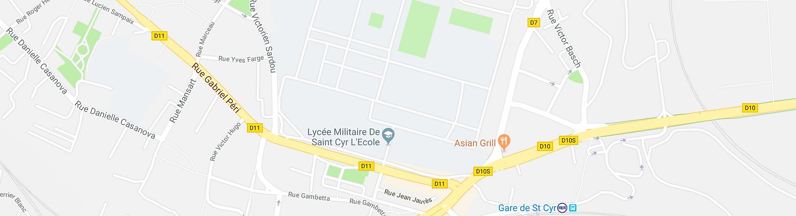 Plan Le comptoir Breton Saint Germain