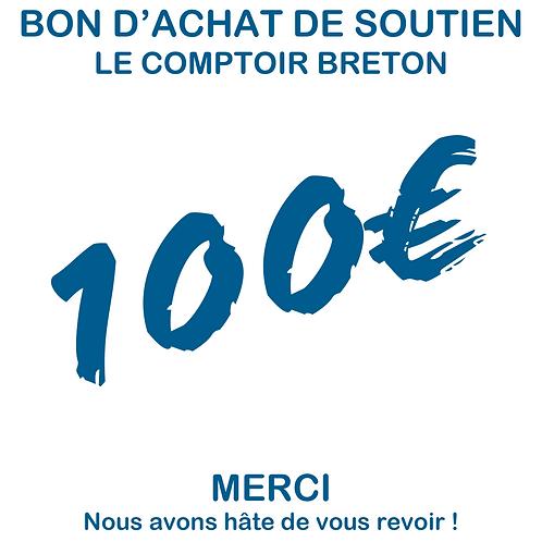 Bon d'achat 100euros