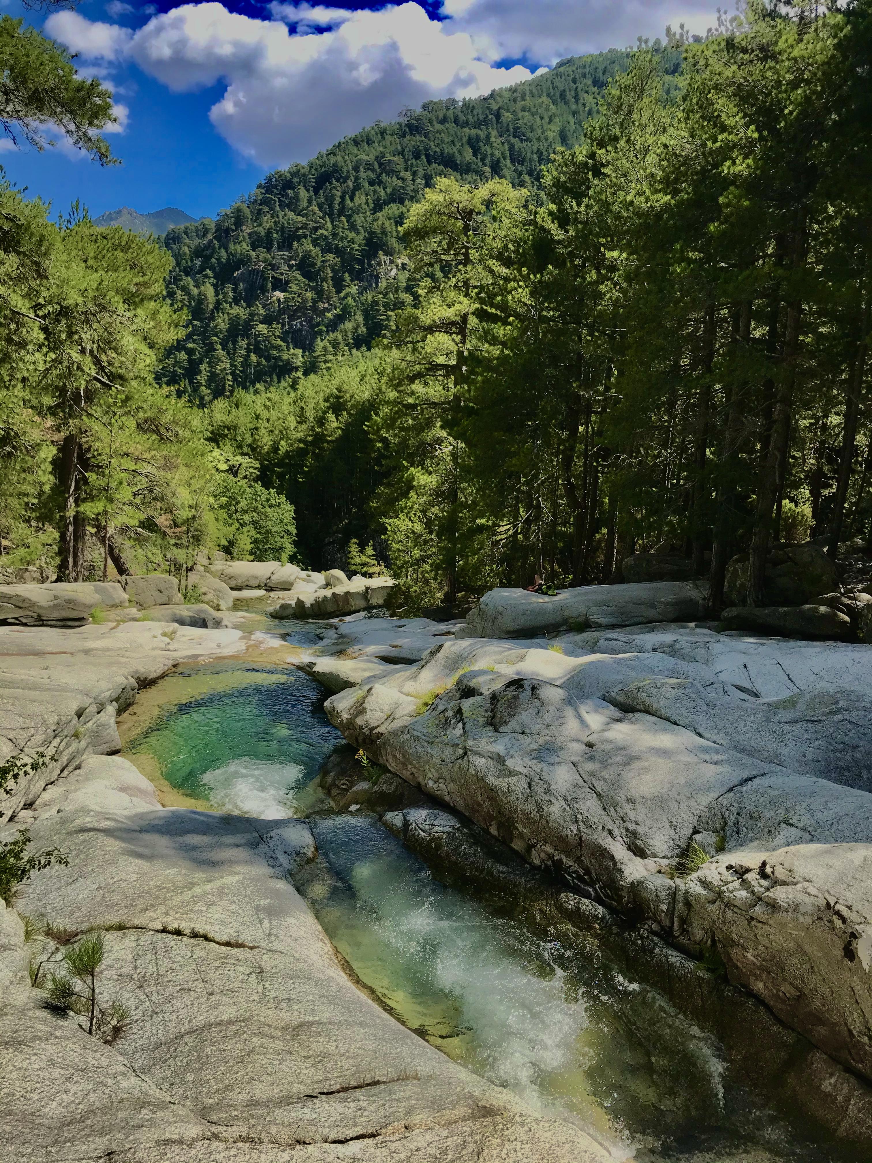 Rivière Le MANGANELLO CANAGLIA VIZZAVONA