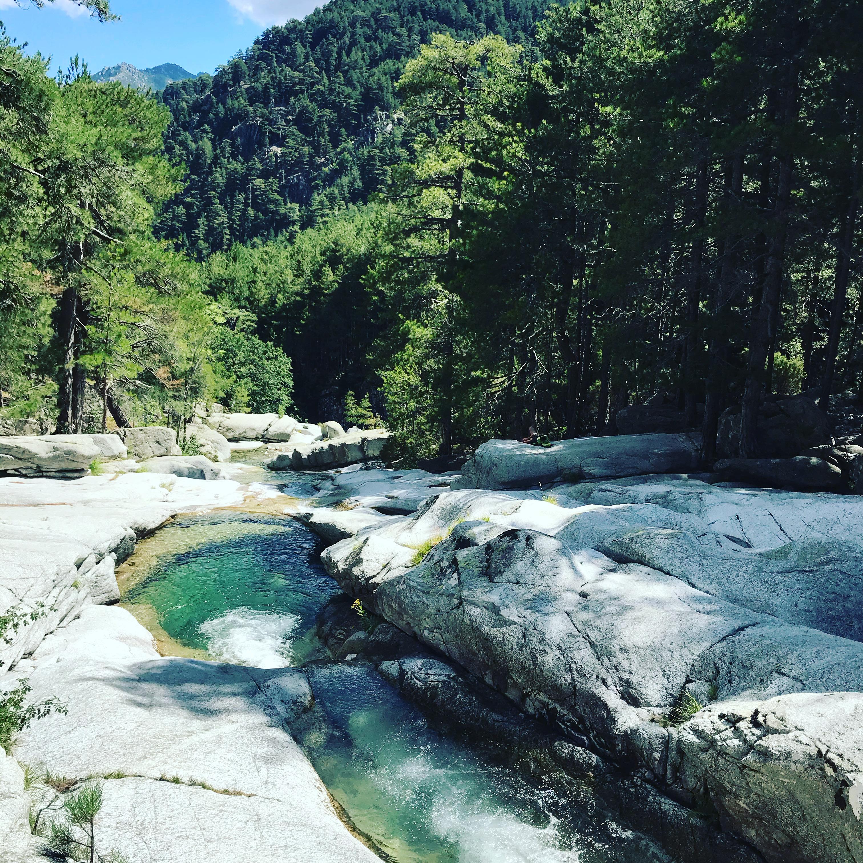 rivière Le MANGANELLO VIZZAVONA VIVARIO