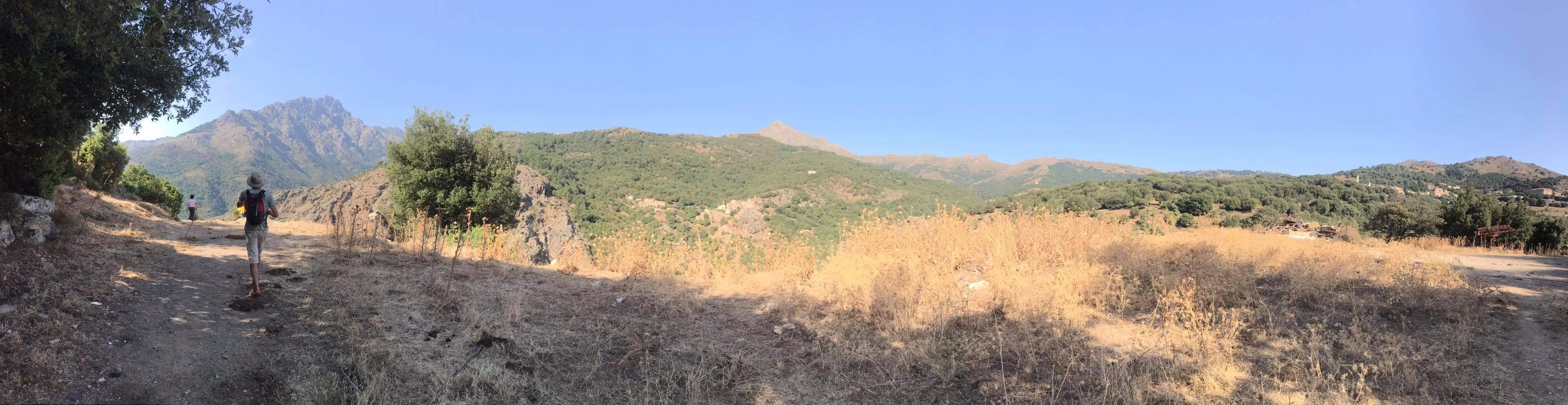 Monte PADRU OLMI CAPELLA GEOMETRE CORSE.