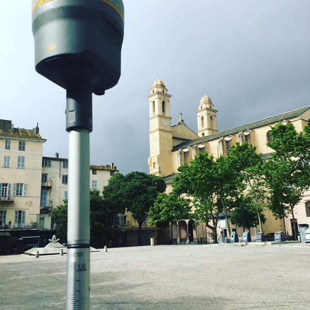 BASTIA place du marché, église St Jean