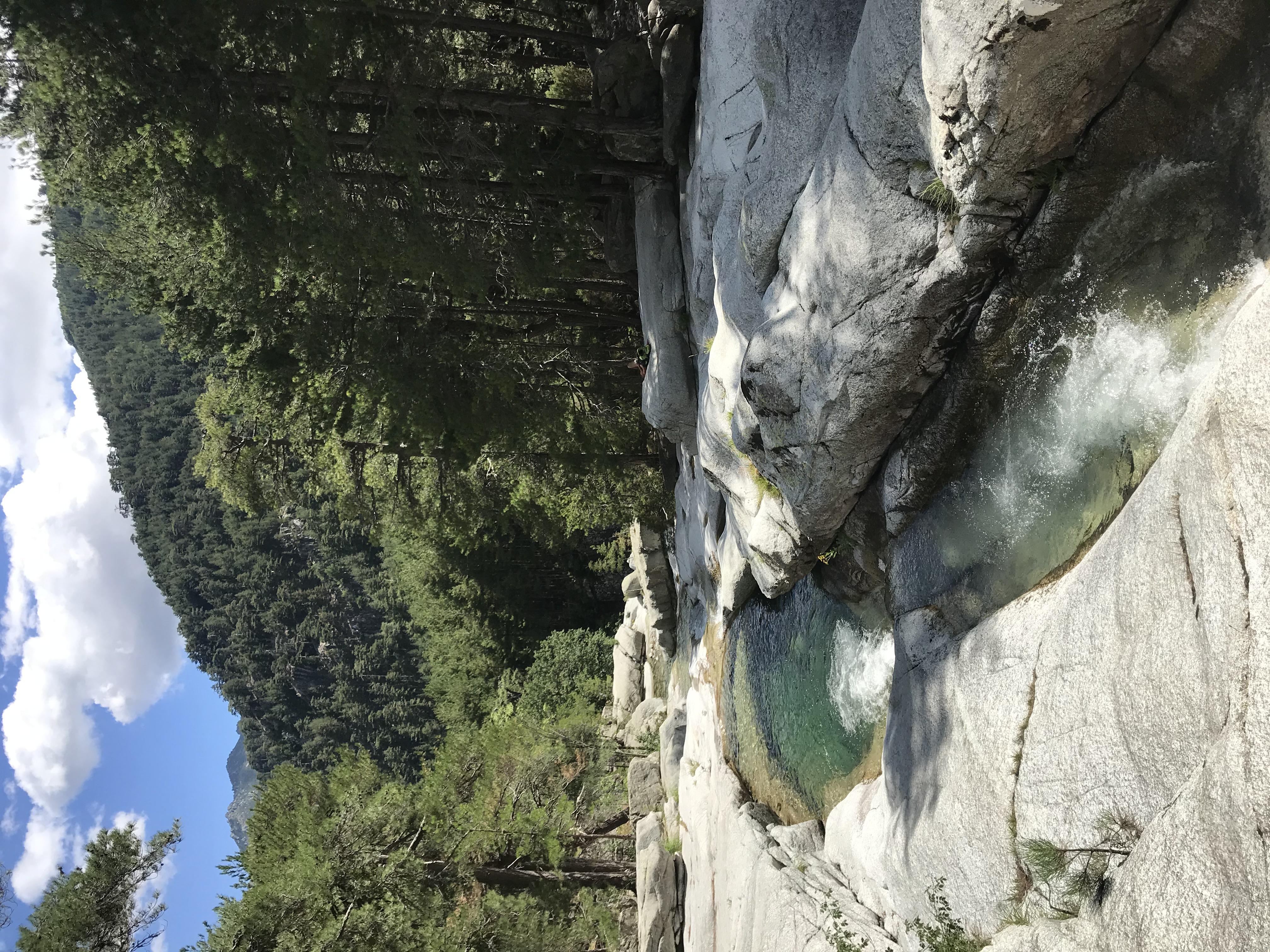 rivière le MANGANELLO Canaglia Vivario Venaco Géomètre-Expert Corse
