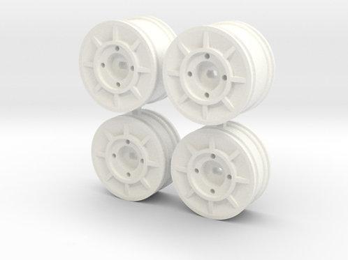 Y24 Wheel set - White