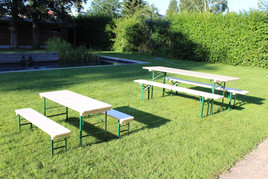 Tables et bancs