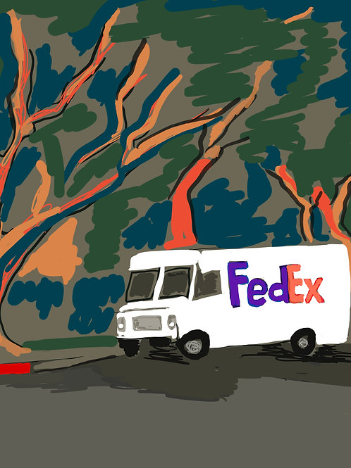 COVID DIARY: Delivery Truck