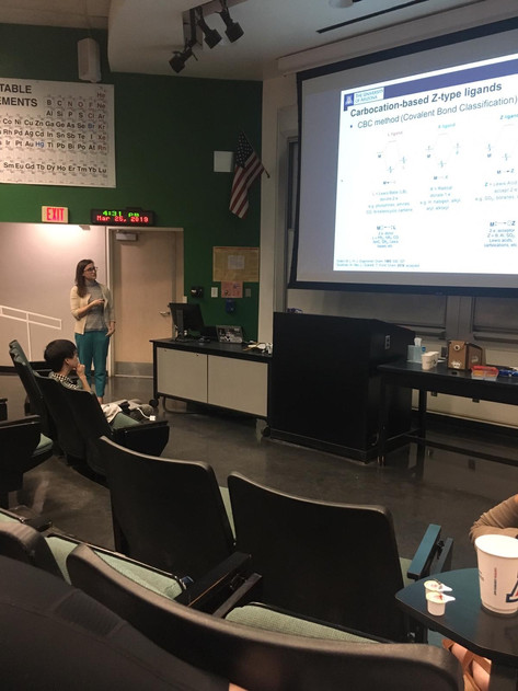Hannah's presentation at ORGINS seminar series 03/25/2019