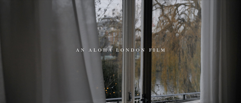 Aloha London Wedding Videography the bingham richmond