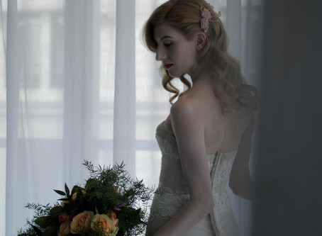 Lux Wedding Film Styled Shoot - South Place Hotel, London