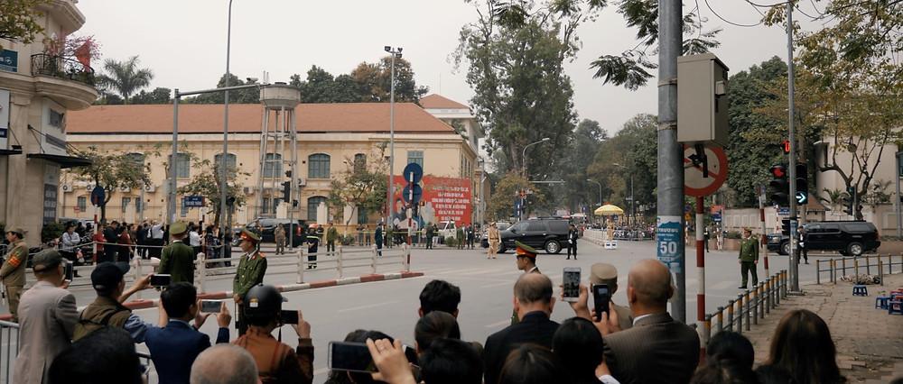 Hanoi cinematographer film aloha london films - Trumps motorcade