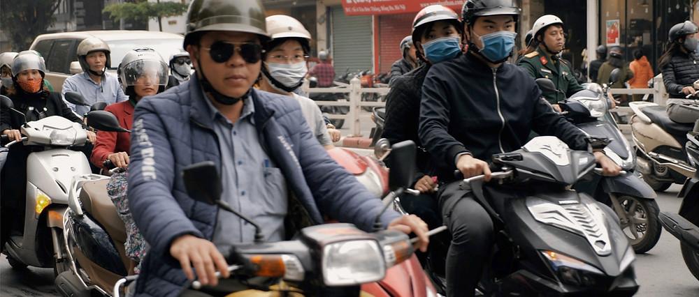 Hanoi cinematographer film aloha london films - Bike men