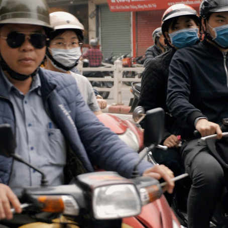 Motorbikes Of Hanoi