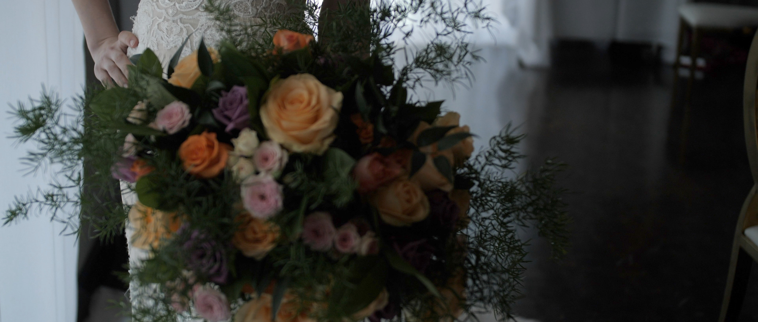 flowers close up london wedding films videographer