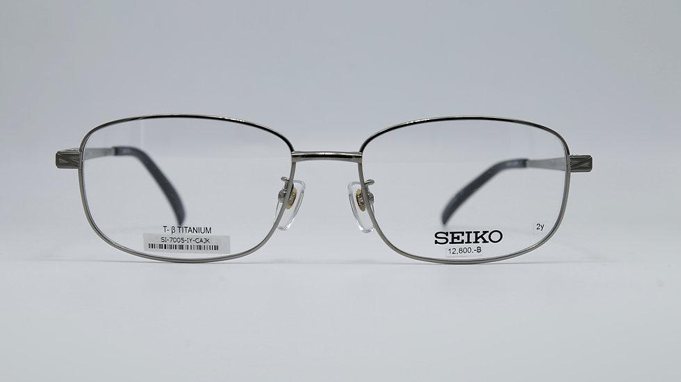 SEIKO รุ่น T7005 กว้างกรอบ 55 กว้างจมูก 17 ยาวขา 140 สี IY
