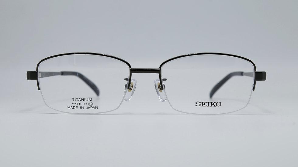 SEIKO รุ่น T8027 กว้างกรอบ 55 กว้างจมูก 18 ยาวขา 140 สี IL