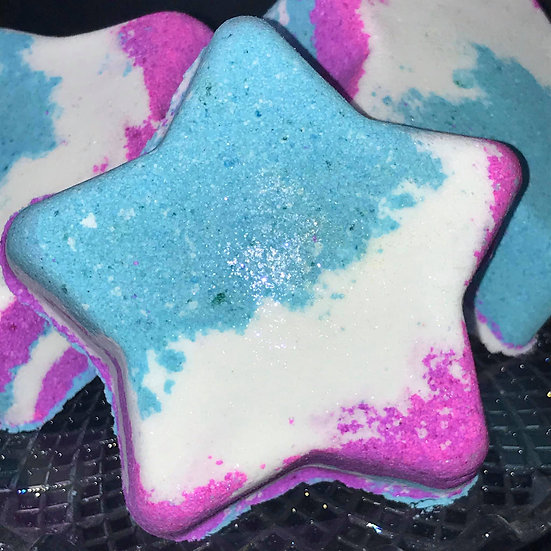 'Fairy Farts' Super size Star Bath Bomb. Pack of 6