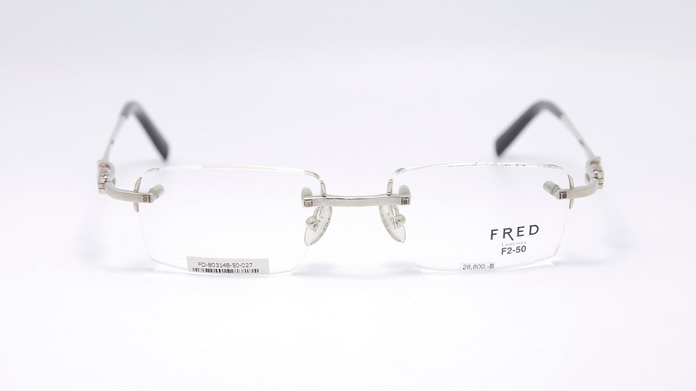FD 803148 กว้างกรอบ 50 สูง 19 ยาวขา 140 สี Silver