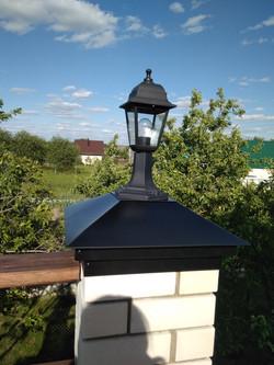 Колпак с платформой под лампу