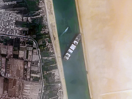 What Just Happened in the Suez Canal?