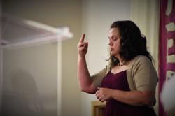 Sign Language Minister Hendrickson