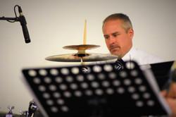 Percussionist Jamie Miles
