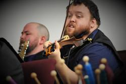 Violinist and Bassist Scott Carroll